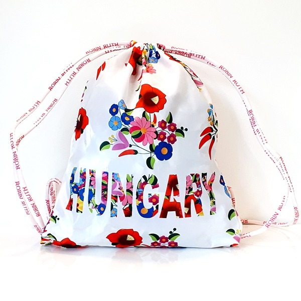 Kalocsai tornazák fehér Hungary