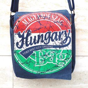 Hungary bag - farmerkék oldaltáska