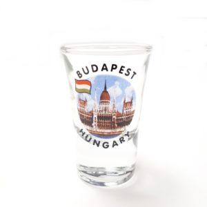 Pálinkás pohár Budapest