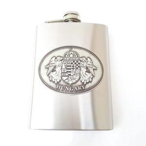 Pálinkás flaska címerrel - Hungary