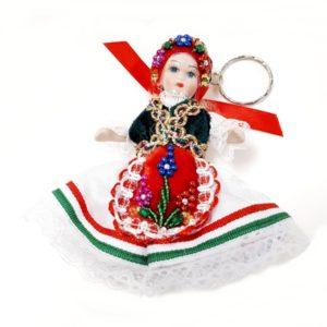 Kicsi porcelán baba - Julika
