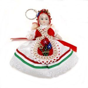 Kicsi porcelán baba - Katika