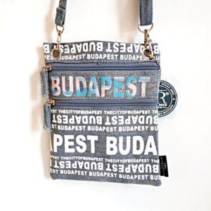 Útlevéltáska Budapest - betűs R
