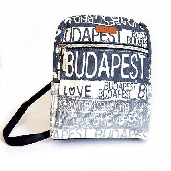 Budapest Art kis hátizsák kék